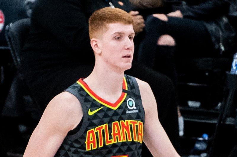 Atlanta Hawks forward Kevin Huerter scored eight of his team-high 27 points in the fourth quarter of a Game 7 win over the Philadelphia 76ers on Sunday in Philadelphia. Photo by Alexander Jonesi/Flickr
