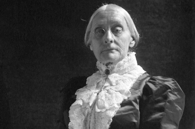 Portrait of women's suffragist Susan B. Anthony taken by renowned photographer Frances Benjamin Johnston between 1900 and 1906. File Photo by Library of Congress/UPI