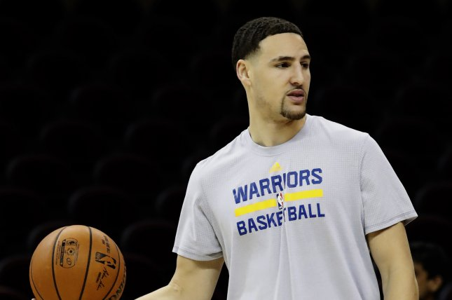 Klay Thompson sets National Basketball Association record for threes in one game