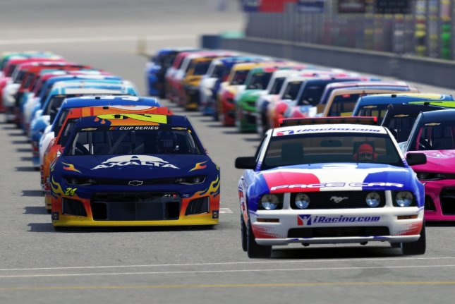 Drivers from NASCAR's Cup Series, Xfinity Series and the Gander RV & Outdoors Truck Series have been competing in the eNASCAR iRacing Pro Series Invitational races. Photo courtesy of NASCAR