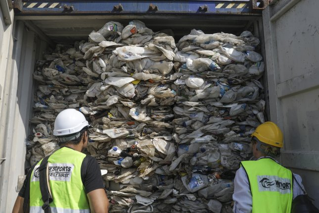 Malaysia has reported illegal imports of trash including plastic waste and toxic materials since 2019. File Photo by Fazry Ismail/EPA-EFE