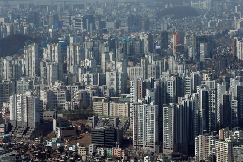 North Korea's propaganda addressed South Korean home prices Friday. File Photo by Yonhap/EPA-EFE