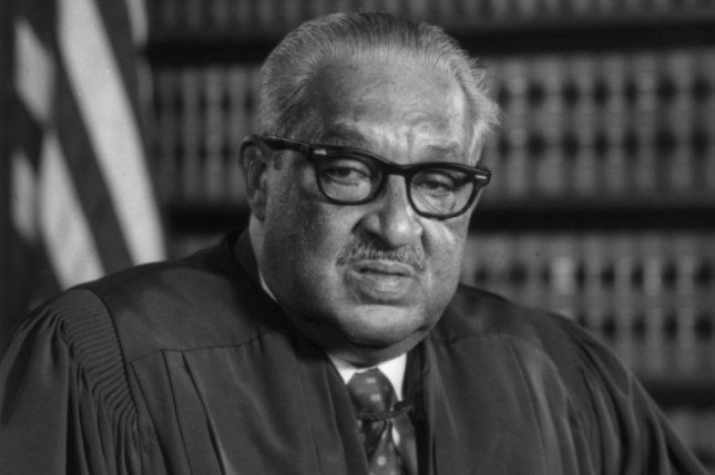 Official portrait of Supreme Court Justice Thurgood Marshall taken in 1976. Photo courtesy Library of Congress