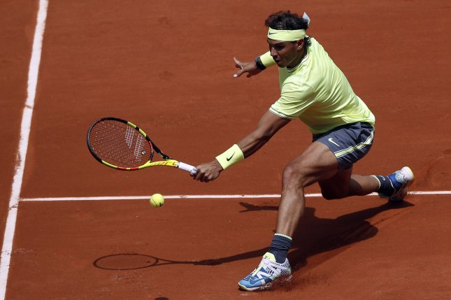 Rafael Nadal is looking to win a 12th French Open title. Photo by Yoan Valat/EPA-EFE
