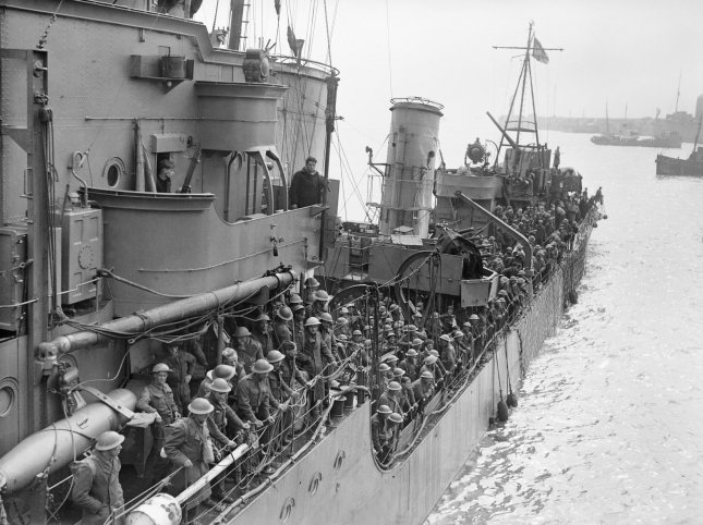 On June 4, 1940, the World War II evacuation of Dunkirk, France, was completed. File Photo courtesy of the Imperial War Museum
