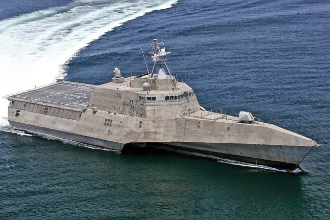 Austel USA, which built the future USS Cincinnati -- its 11th littoral combat ship for the U.S. Navy -- is developing plans for a next-generation guided missile frigate. Photo courtesy U.S. Navy