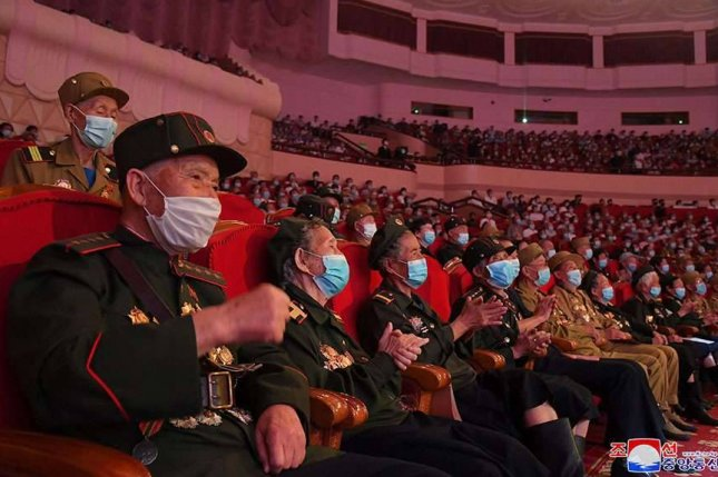 North Korea held its 7th National Conference of War Veterans this week to commemorate the 68th anniversary of the Korean War armistice. Photo by KCNA