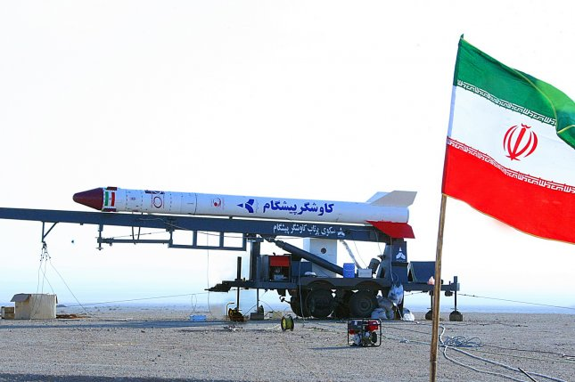 On August 13, 2017, Iran's parliament passed a bill funneling fresh funds to the nation's ballistic missile program. Photo by EPA/STRINGER