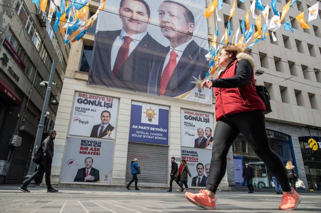 The Supreme Electoral Council ordered a recount for races in Istanbul after voting discrepancies were discovered. Photo by Sedat Suna/EPA-EFE