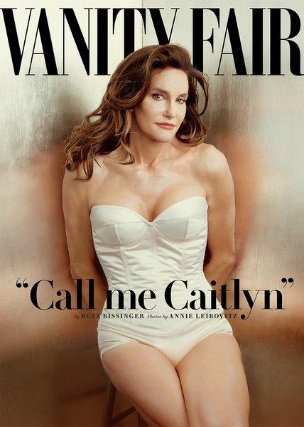 Caitlyn Jenner on the July 2015 cover of Vanity Fair. Photo by Annie Leibovitz/Vanity Fair