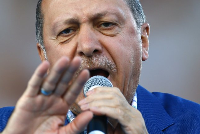 Turkish President Recep Tayyip Erdoğan's aim is to transform the country into a majoritarian authoritarian system centered on one man. File Photo by Sedat Suna/EPA