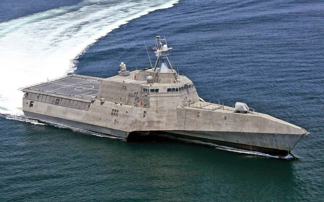 The future USS Cincinnati (LCS 20), the 11th littoral combat ship Austal USA has built for the U.S. Navy, has completed acceptance trials. Photo courtesy of the U.S. Navy