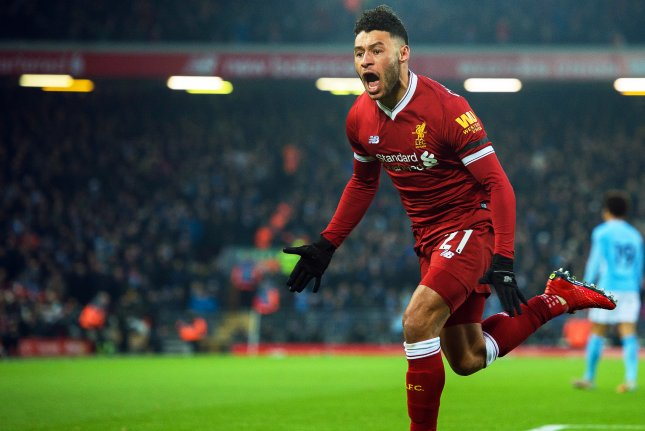Liverpool's Alex Oxlade-Chamberlain is out indefinitely after sustaining an ankle injury. Photo by Peter Powell/EPA-EFE