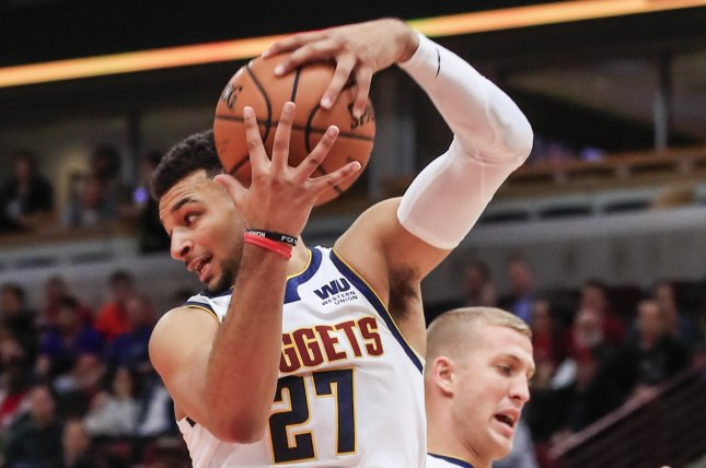 Jamal Murray and the Denver Nuggets fought past the Sacramento Kings on Thursday night. Photo by Tannen Maury/EPA-EFE