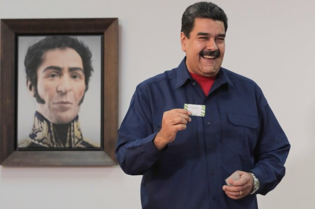 Venezuelan President Nicolas Maduro has received the support of Russia, China and North Korea. File Photo by Miraflores/EPA-EFE