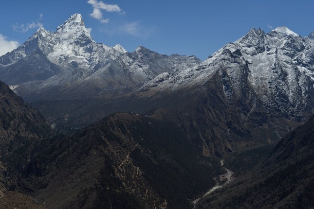 Mount Everest has an elevation of 29,029 feet, the tallest in the world. File Photo by Praphat Rattanayanon/Shutterstock/UPI