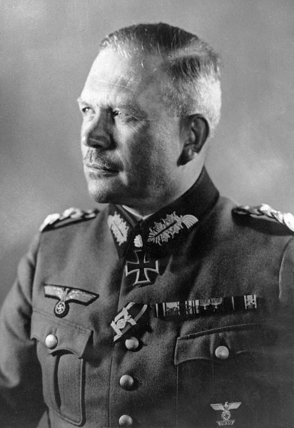 Cmdr. Heinz Guderian led the German 2nd Panzer division during the Battle of Abbeville in France in 1940. Here is seen in July 1941. File Photo courtesy of the State Treasury of Poland/Wikimedia Commons