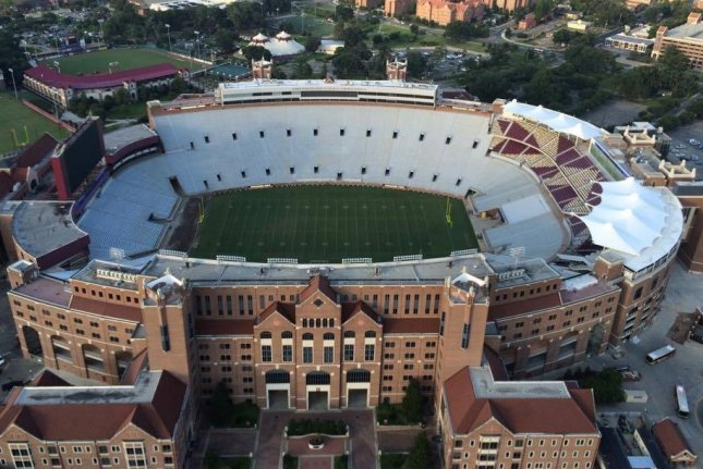 Florida State was scheduled to host Virginia on Saturday at Doak Campbell Stadium in Tallahassee, Fla., but that game was canceled due to COVID-19-related issues. SeminoleNation / Wikimedia Commons