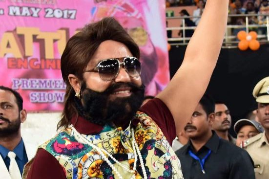 An Indian judge handed down the life in prison sentence to guru Gurmeet Ram Rahim Singh and three accomplices. File Photo courtesy of EPA-EFE