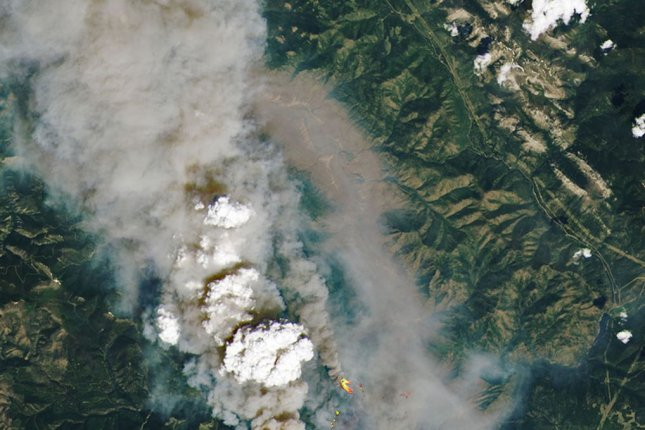 Over 170 wildfires rage across Western Canada as forensic team arrives in Lytton
