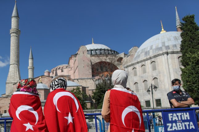 Turkey's Hagia Sophia to open for Friday prayers on July 24