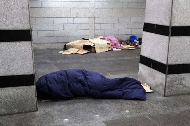 The homeless population of Seoul numbers more than 3,000, according to a recent press report. File Photo by Jeon Heon-kyun/EPA