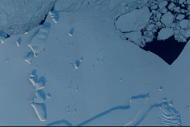Significant sea levels rise will get backed into ice and ocean systems, even if all countries meet their Paris Agreement pledges. Photo by NASA/UPI