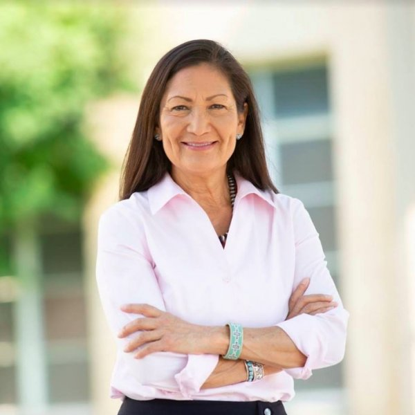 If confirmed as interior secretary, Rep. Deb Haaland, D-N.M., would be the first Native American in a Cabinet secretary position. File Photo courtesy of Deb Haaland for Congress/Facebook