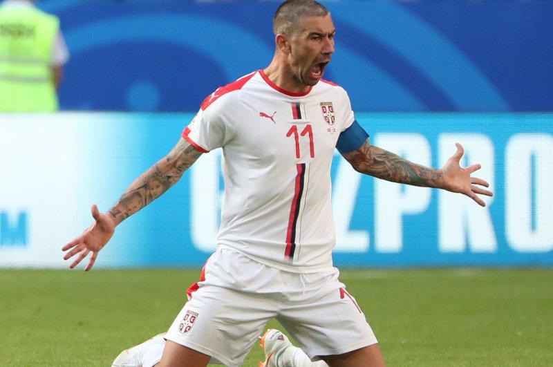 Watch: Serbia's Kolarov beats Costa Rica with deep free kick - UPI.com