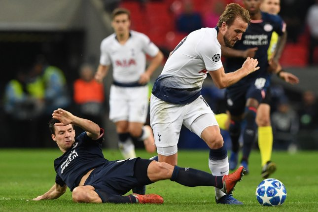 dbe4d99b322 Harry Kane rallies Tottenham Hotspur to Champions League win - UPI.com
