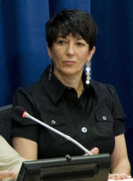 Ghislaine Maxwell is seen during a press conference at the United Nations headquarters in New York City in 2013. File Photo by Rick Bajornas/EPA-EFE
