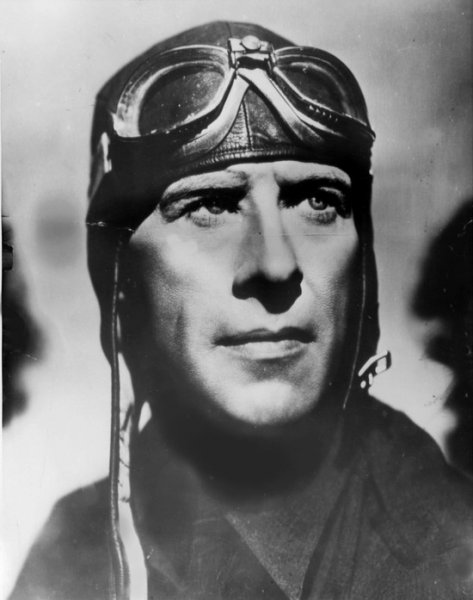 On Aug. 13, 1930, Capt. Frank Hawkes set an air speed record by flying from Los Angeles to New York in 12 hours, 25 minutes. File Photo courtesy of San Diego Air and Space Museum Archives