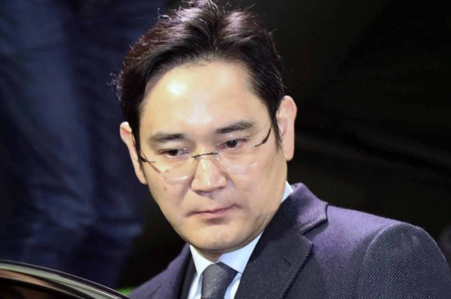 Samsung Electronics vice chairman Lee Jae-yong could lead conglomerate Samsung Group following the death of chairman Lee Kun-hee, according to a local press report Monday. File Photo by Yonhap/EPA-EFE