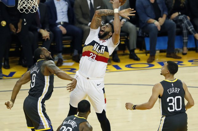 best loved 60c24 bca67 Anthony Davis requests trade from New Orleans Pelicans - UPI.com