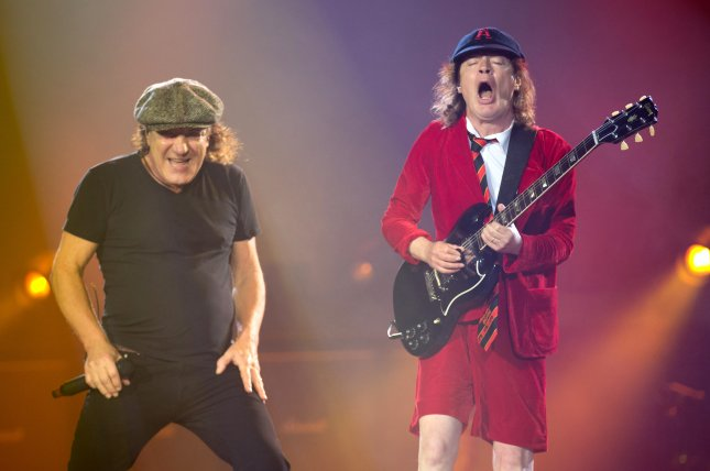 AC/DC's Power Up is the No. 1 album in the United States this week.  File Photo by Friso Gentsch/EPA