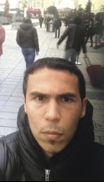 An undated handout photo released on Tuesday by Turkish police shows the main suspect in the Reina nightclub shooting. A manhunt for the attacker is still under way. At least 39 people were killed and 65 others were wounded in the attack. Photo by Handout/Dogan News Agency/European Pressphoto Agency