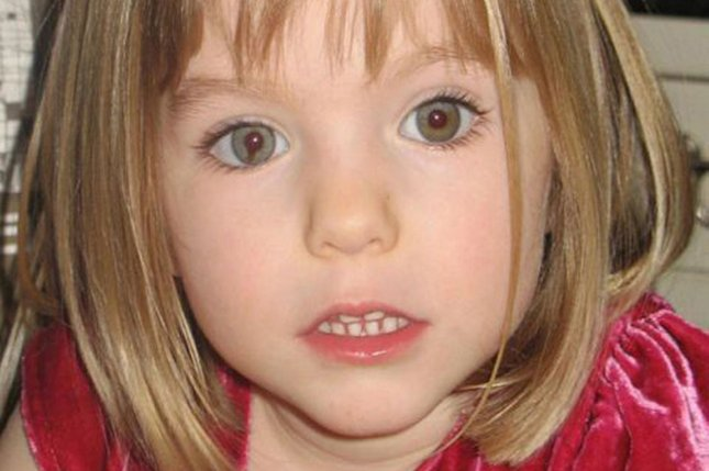 Three-year-old Madeleine McCann went missing from her family's holiday apartment in Praia da Luz, Portugal on May 3, 2007. UPI File Photo