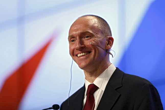 Carter Page met with Russian officials in 2-16
