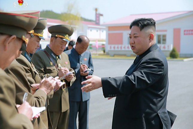 North Korean leader Kim Jong Un warned the United States on Monday. Photo by Yonhap News Agency/UPI