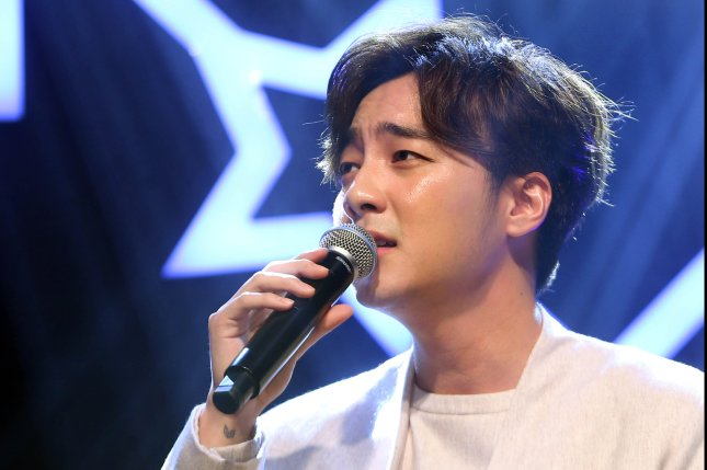 Roy Kim thanked fans Monday after his new song reached No. 1 on several Korean music charts. File Photo by Yonhap News Agency/EPA