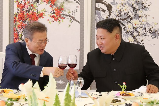 North Korean liquor could be bartered for South Korean sugar in a rare inter-Korea exchange of goods that is waiting to be approved in Seoul. File Photo by Pyongyang Press Corps/EPA-EFE