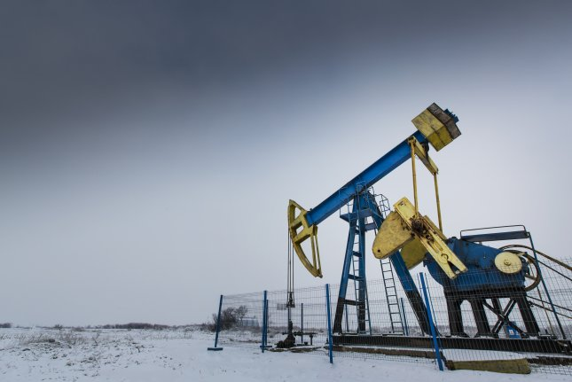 North Dakota rig activity stable despite volatility in crude oil prices. Rig counts are relatively unchanged from one month ago, but still flirting with a six-year low. File photo by Calin Tatu/UPI