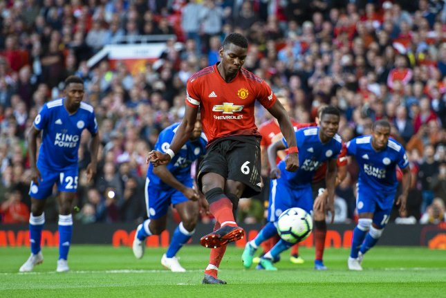 Image result for Manchester United Gets First Win Over Leicester City