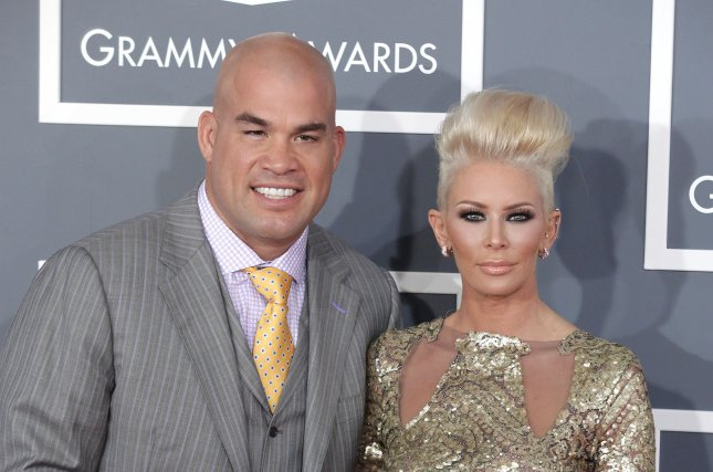 Jenna Jameson R And Then Boyfriend Tito Ortiz At The Grammy Awards On February 10 2013 The Former Porn Star Sued Ortiz For Half Of Their Huntington