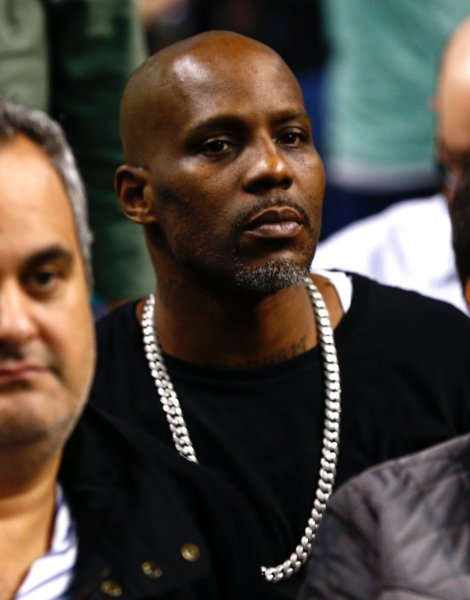 Rapper DMX, seen here at a Boston Celtics game in November 2017, was released from prison Friday in West Virginia after serving a sentence for tax evasion. File Photo by CJ Gunther/EPA