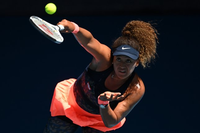 Naomi Osaka of Japan defeated Serena Williams of the United States in their Women's singles semifinals on Day 11 of the Australian Open Grand Slam tennis tournament at Melbourne Park in Melbourne, Australia, on Thursday. Photo by Dean Lewins/EPA-EFE