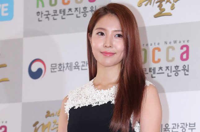 BoA attends the Korean Pop Culture & Arts Awards in Seoul, South Korea, on October 27, 2016. File Photo by Yonhap News Agency/EPA