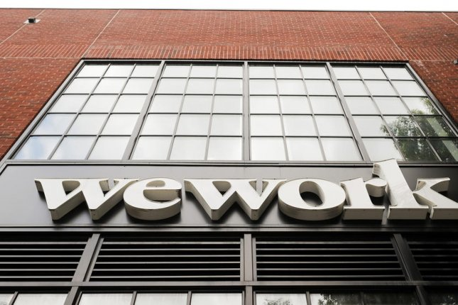WeWork Special Committee announced Tuesday it is suing SoftBank over alleged breach of contract and breach of fiduciary duty after $3 billion tender offer withdrawal. File Photo by Justin Lane/EPA-EFE