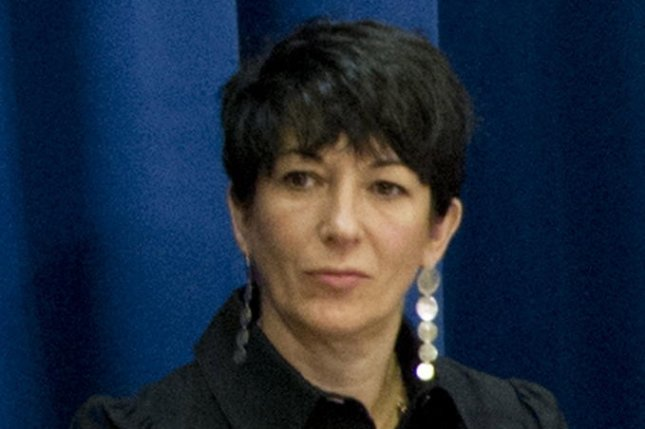 British socialite Ghislaine Maxwell, pictured in 2013 at United Nations headquarters in New York, was arrested and charged with participating in the sexual abuse of minors by close friend Jeffrey Epstein. File photo by Rick Bajornas/United Nations/EPA-EFE