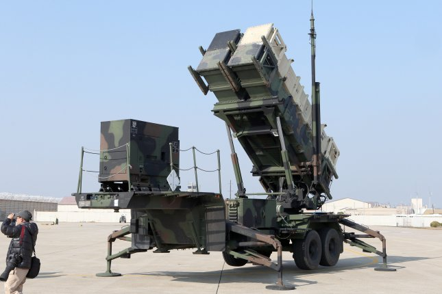 Poland's Minister of National Defense Antoni Macierewicz said Wednesday that the country will seek U.S. authorization to buy the Patriot Integrated Air and Missile Defense System from Raytheon. A U.S. Patriot system is shown here in South Korea in February. Photo courtesy of Yonhap/UPI